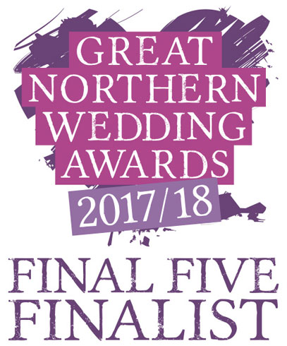 Charlotte Designs - Great Northern Wedding Awards 2017-2018 Final Five Finalist